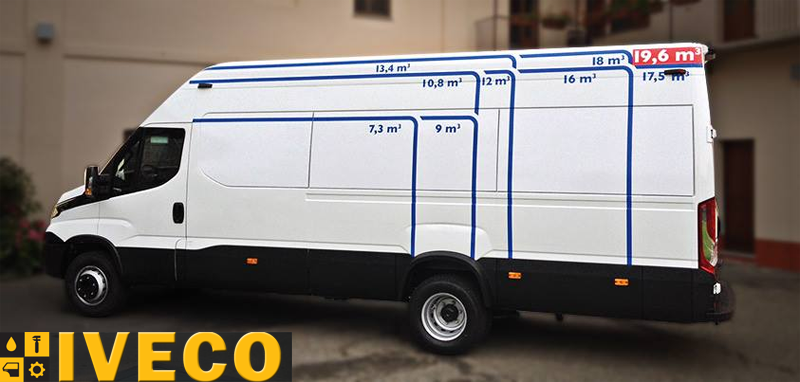 Микроавтобус Iveco Daily 50C15V H3 3.0HPT