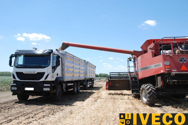 Зерновоз IVECO Trakker AT 380T41H