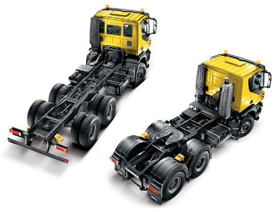 Шасси или седельный тягач IVECO Trakker