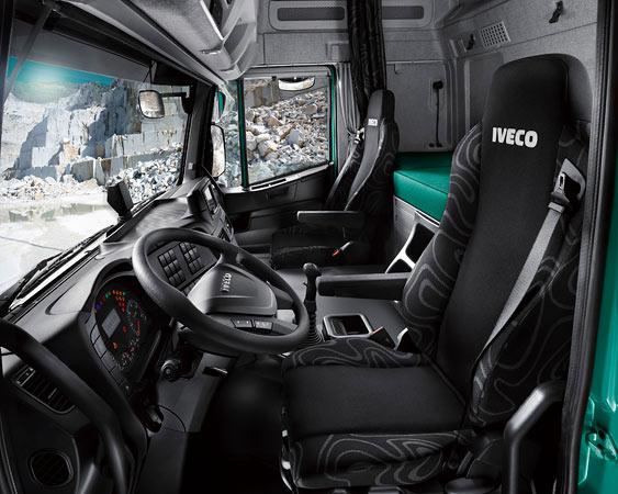 Кабина Active Time грузового автомобиля IVECO Trakker